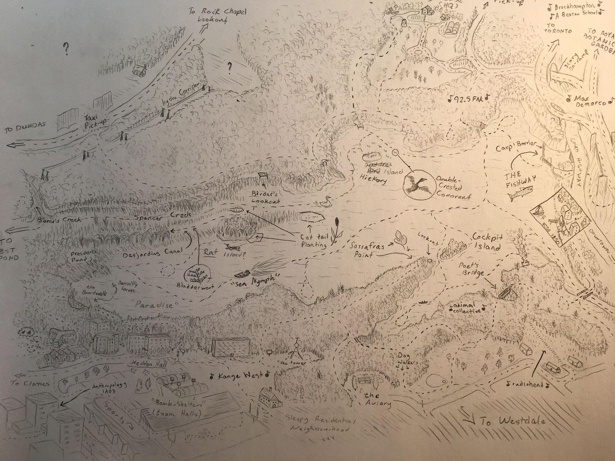 A Wanderer's Map