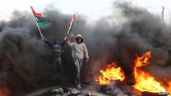 Libyan Civil War - Washington Post