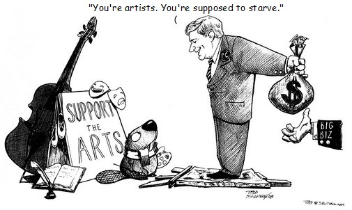 """Thoughts on the """"Starving Artist"""""""
