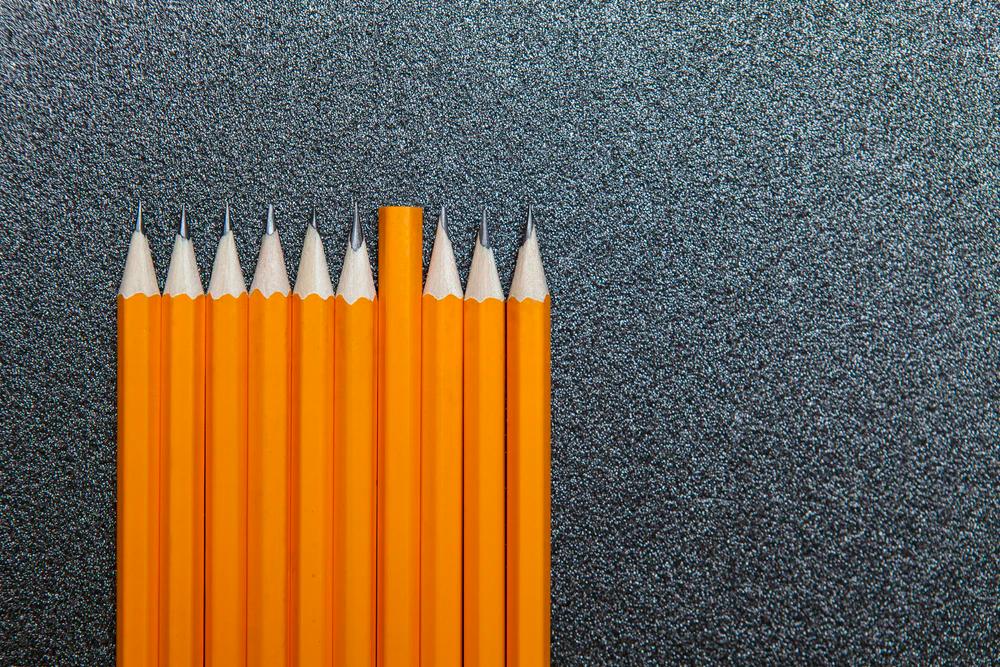 yellow pencil lot
