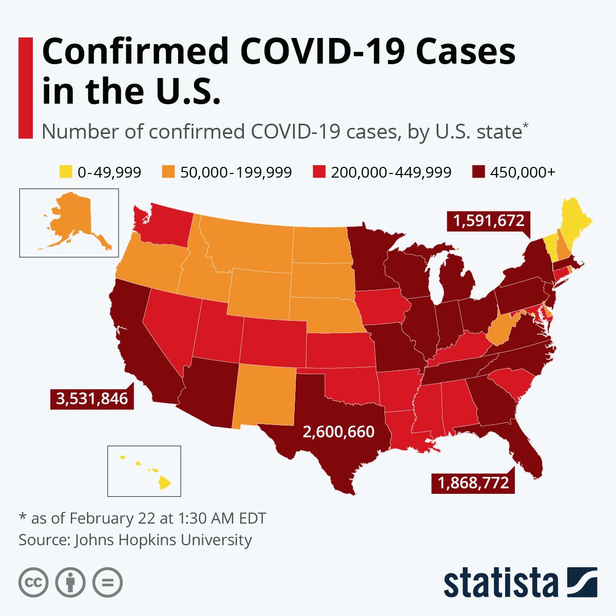 U.S COVID-19 Map