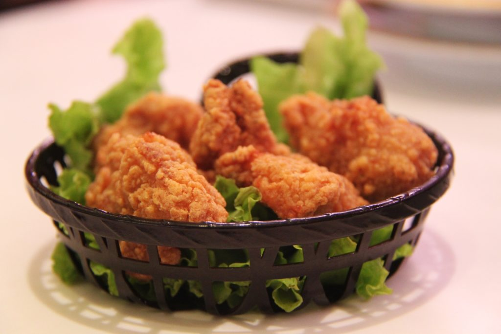 Example of Yang Food: Fried Chicken