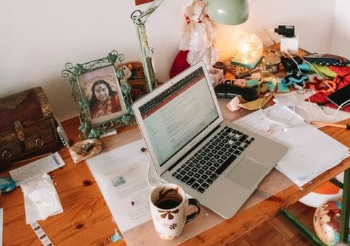 image of table and workspace
