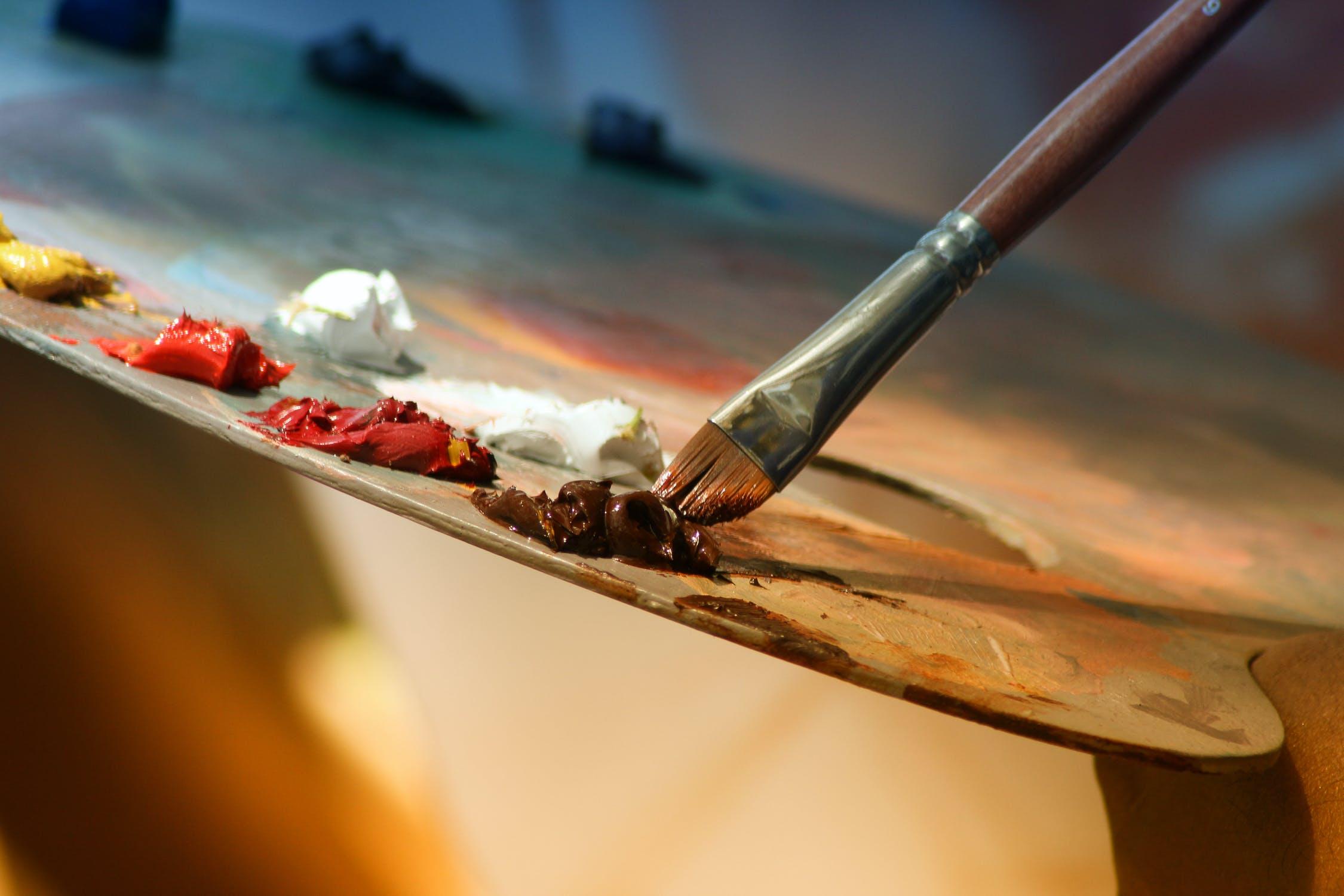 image of paint palette