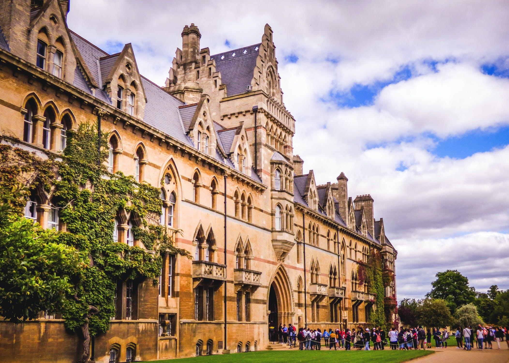 image of university building
