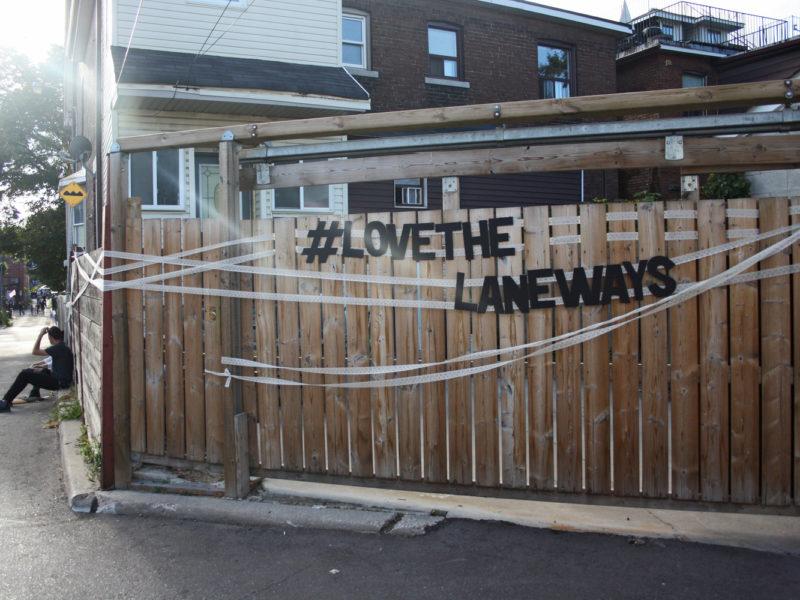 Revitalizing Toronto's Untapped Laneways as Public Spaces