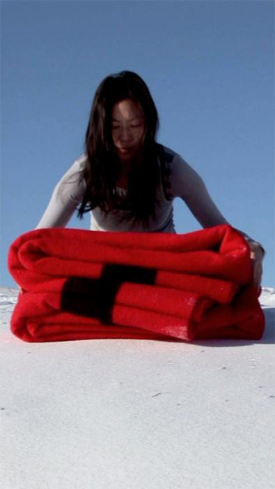 still from the Blanket film