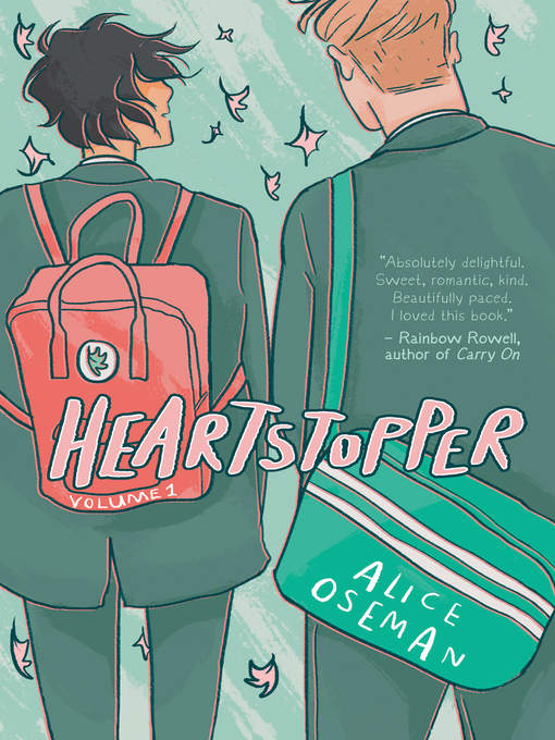 The book cover of Heartstopper Volume 1 by Alice Oseman.