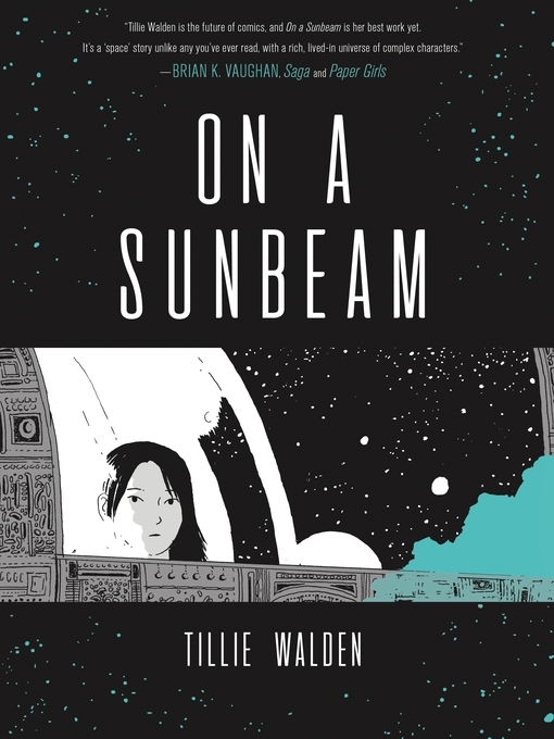 The book cover of On a Sunbeam by Tillie Walden.