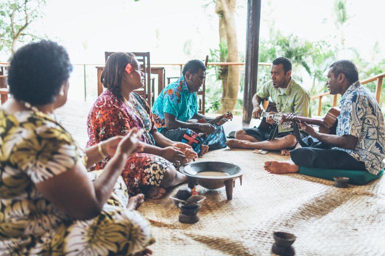 Kava Ceremony in Fiji