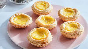 plate of egg tarts