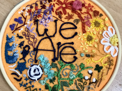 """""""We Are"""", a Queer art piece inspired by ACAS and QTAY"""