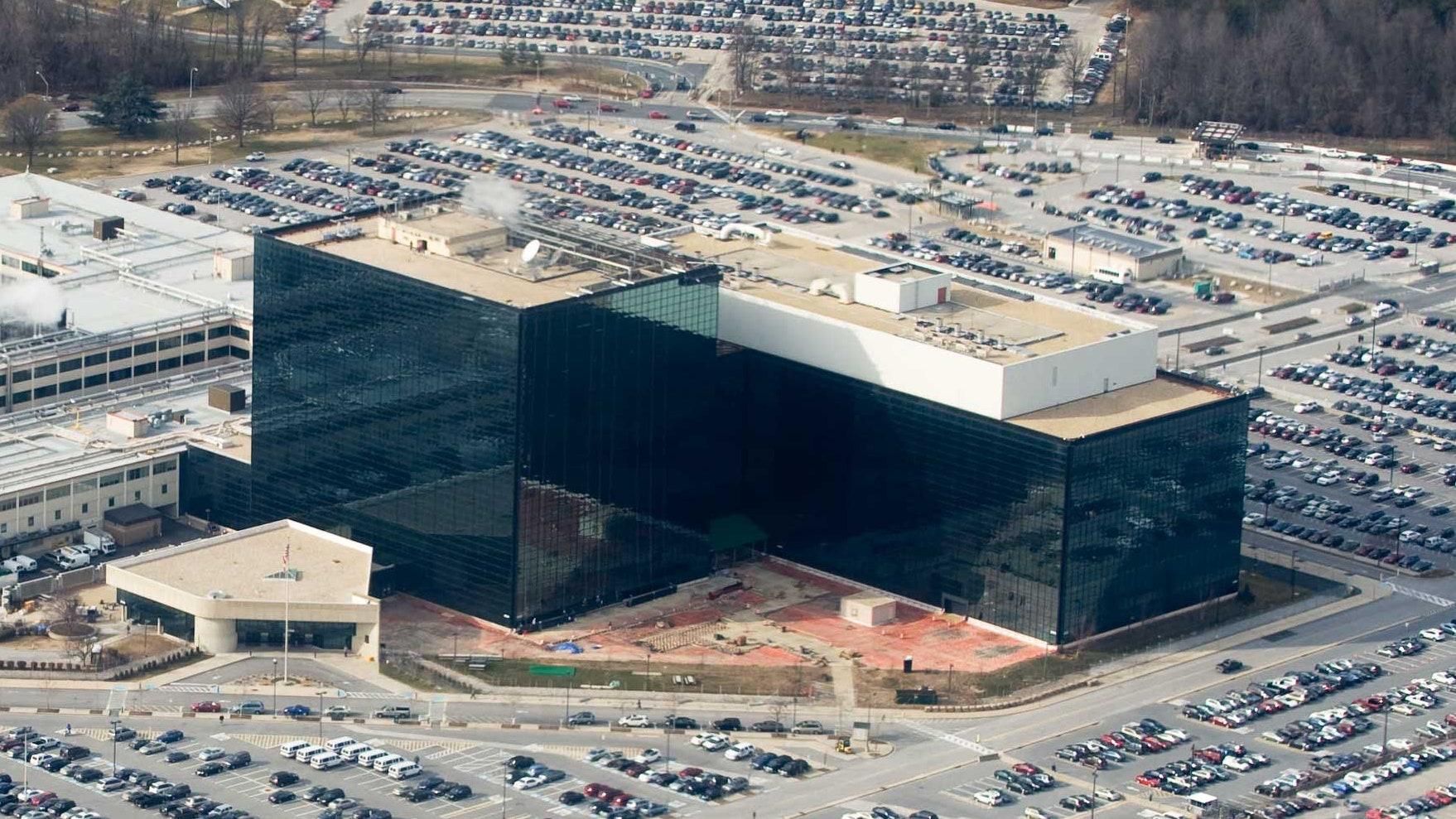 NSA Headquarters. Fort Meade, Maryland, U.S. SAUL LOEB/AFP via Getty Images.